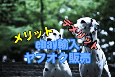 ebay輸入→ヤフオク!販売のメリット・デメリット
